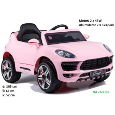 Avto na akumulator CORONET S (roza)