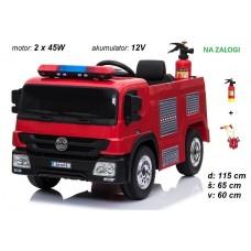 Otroški gasilski tovornjak + gasilska oprema