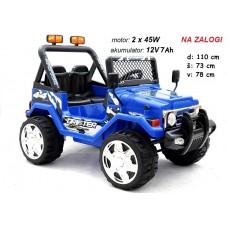 Otroški Jeep Raptor (moder)