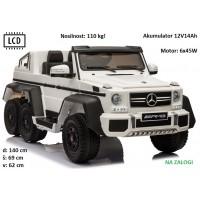 Mercedes G63 6x6 (do 110 kg, LCD) bel