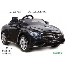 Mercedes S63 (črn)