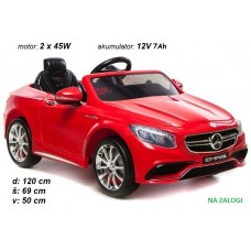 Mercedes S63 (rdeč)