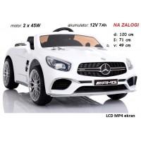 Mercedes SL65 LCD ekran (bel)