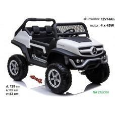 Mercedes Unimog XL dvosed (bel)