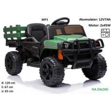 otroški traktor na akumulator BDM0926 (zelen)