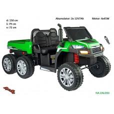 Otroški traktor Farmer 24V (zeleno siv)